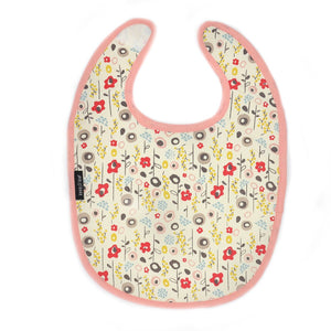 Reversible Baby Bib - Bloom - The Ethical Gift Box