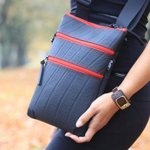 Maggie Inner Tube Crossbody Bag - The Ethical Gift Box
