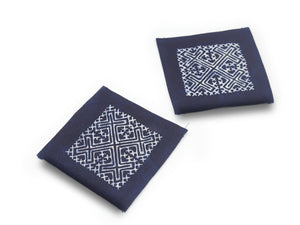 Hmong Coasters Set of 2 - The Ethical Gift Box