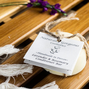 Lavender & Rosemary Solid Conditioner Bar 50g