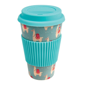 Dolly Llama Bamboo Travel Mug - The Ethical Gift Box