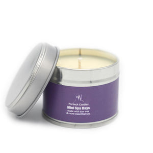 Spa Days Mini Soy Wax Candle
