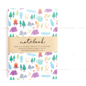 Adventure A6 Recycled Blank Notebook
