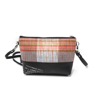 Lamai Inner Tube & Fabric Cross Body Bag