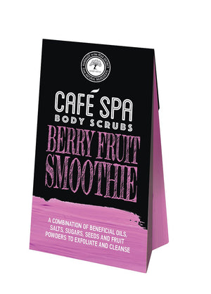 Cafe Spa Berry Fruit Smoothie Body Scrub - 50g