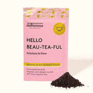 Hello Beau-Tea-Ful, Original Black Tea Body Scrub