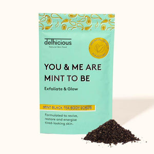 You & Me Are Mint To Be, Original Black Tea Body Scrub