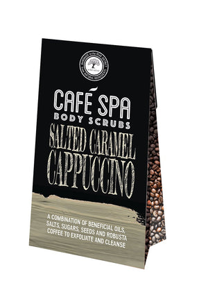 Cafe Spa Salted Caramel Cappuccino Body Scrub - 50g