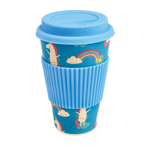 Magical Unicorn Bamboo Travel Mug - The Ethical Gift Box