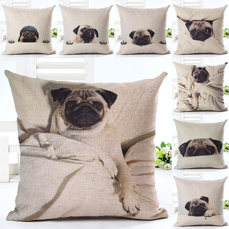 Pug Decorative Pillow Case | Pugz n Stuff