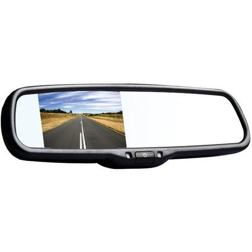 "BOYO Vision VTM35M 3.5"" LCD Rearview Color Mirror Monitor"