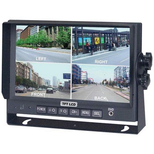 "CrimeStopper(TM) SV-8900.QM.II 7"" Color LCD Monitor with Built-in Quad View"