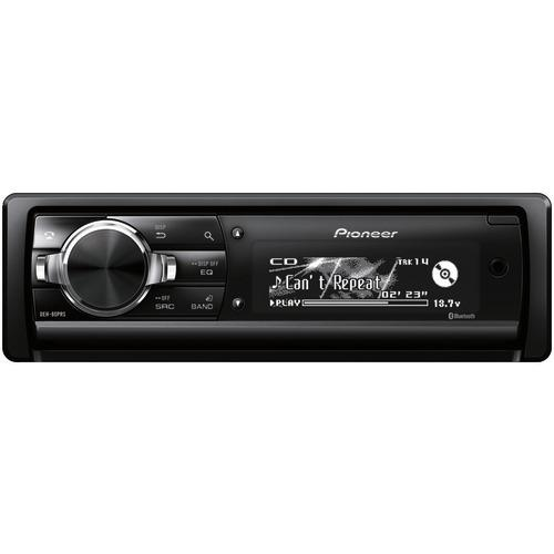 Pioneer Single-din In-dash Cd Receiver With Bluetooth (pack of 1 Ea)