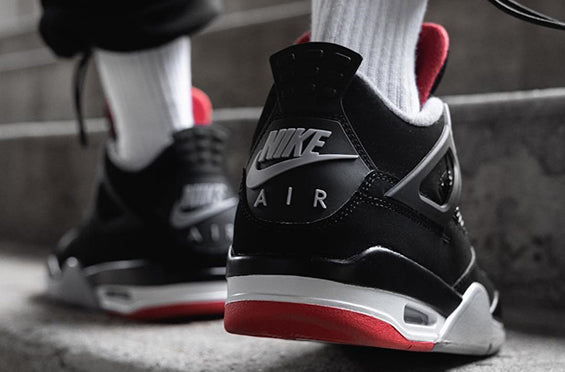 "Official Images Of The Air Jordan 4 ""Bred"" Dropping in May"