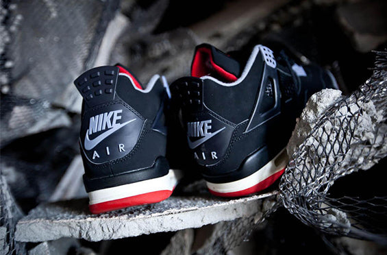 "The Nike Air Branded ""Bred"" Air Jordan 4 Returns in May"