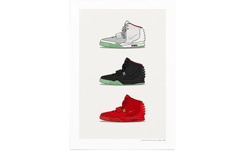 KickPoster - Triple Air Yeezy II