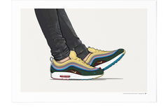 KickPoster - Sean Wotherspoon Airmax 97/1 On-Foot