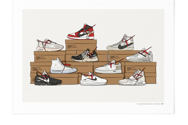 KickPoster - Off-White Ten Stack Collection