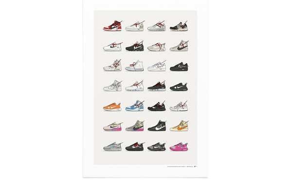 KickPoster - Nike x Off-White Collection