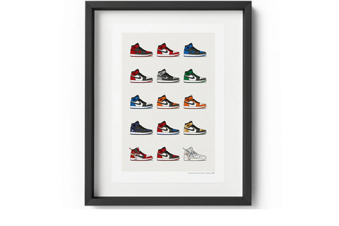 KickPoster - Jordan 1 Hype Collection