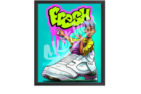 Sketchem - AJ5 Fresh Prince Grape
