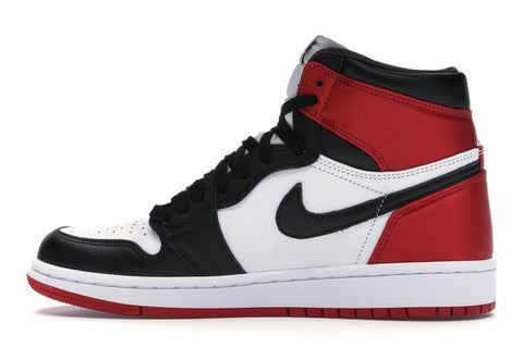 "Jordan 1 Retro (W) ""Satin Black Toe"""