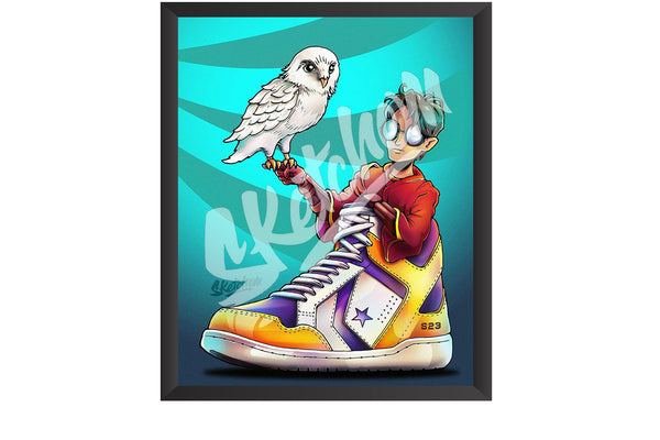 Sketchem - Harry Potter x Converse