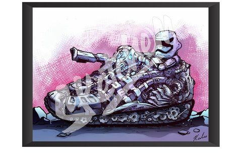 Sketchem - Storm Trooper Mechanical Boot