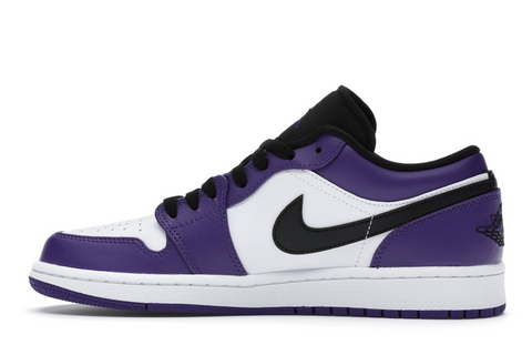 "Jordan 1 Low ""Court Purple"""