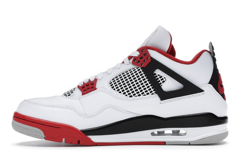 "Jordan 4 Retro ""Fire Red"""