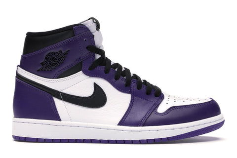 "Jordan 1 Retro ""Court Purple White"""