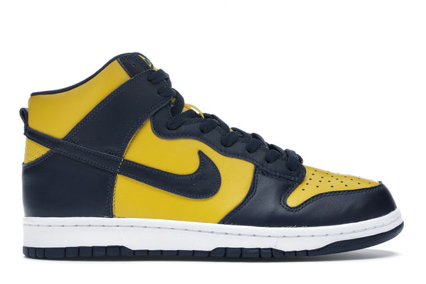 "Nike Dunk High ""Michigan"""