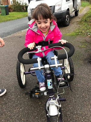 Fund Raising for Lillian's New Bespoke Bike