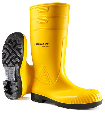 Dunlop Acifort Heavy Duty Yellow
