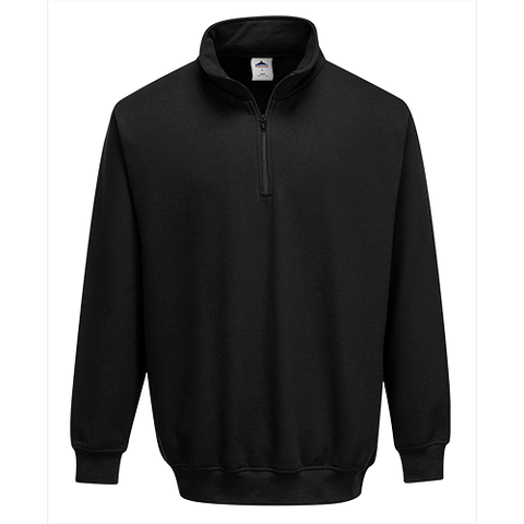 Portwest Zip Neck Sweatshirt