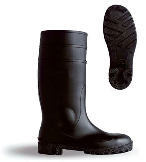 Pvc Safety Boot S5 Black 03/36