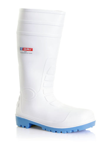 Pvc Safety Boot S4 White 03/36