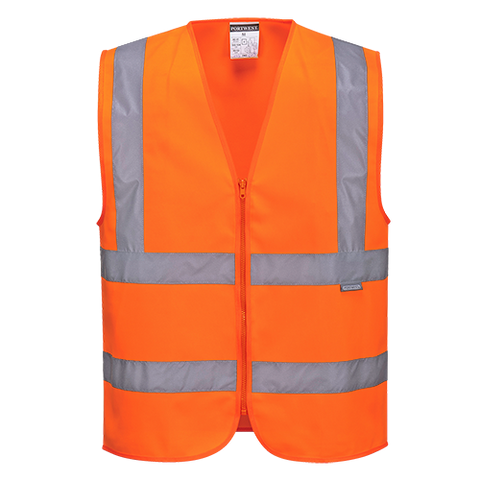 Portwest Hi-Vis Zipped Vest