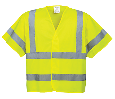 Portwest Hi-Vis Short Sleeve Vest