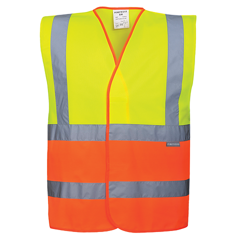 Portwest Two-Tone Hi-Vis Vest