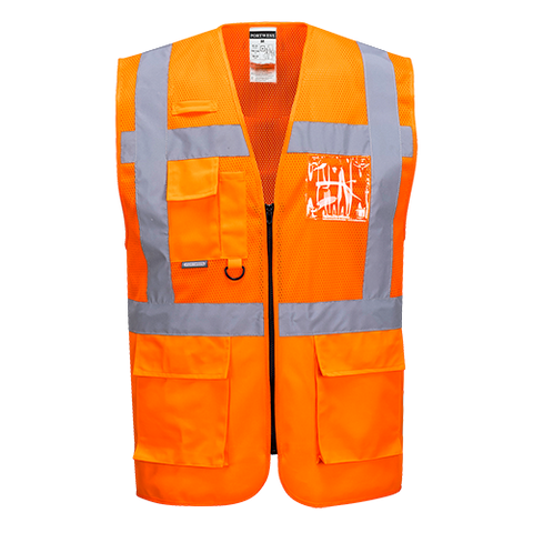 Portwest Madrid Executive Mesh Vest
