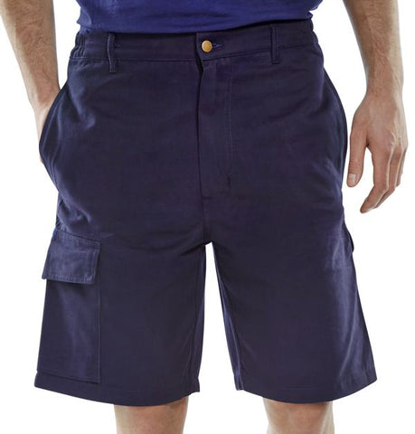 Click C/Pocket Shorts Navy