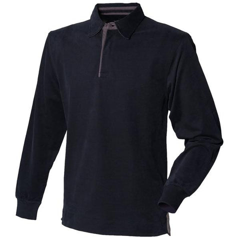 Super soft long sleeve rugby shirt
