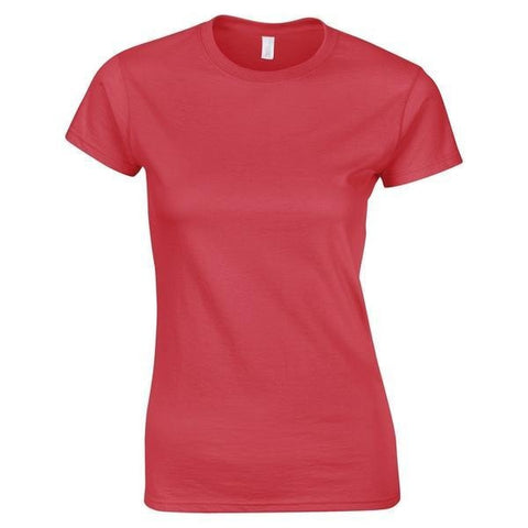 Gildan Gildan Softstyle  © women's ringspun t-shirt in Antique Cherry Red - 121 Workwear - Personalised Workwear