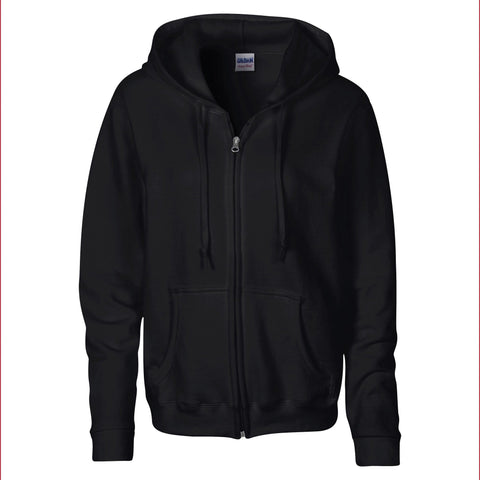 Gildan Women's Heavy Blend full zip hoodie