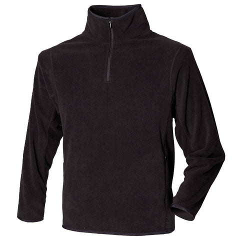Henbury ¼-zip lightweight inner fleece