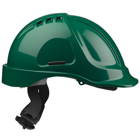 Hc635 Vented Helmet Green