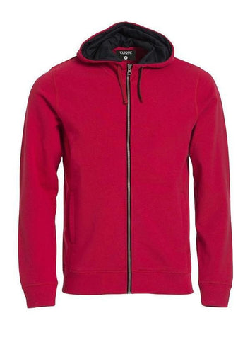 Clique Clique Classic Hoody Full Zip in XS - 121 Workwear - Personalised Workwear
