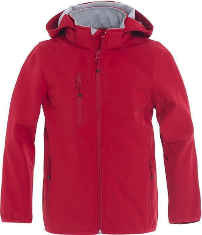 Clique Clique Basic Softshell Jacket Junior in  - 121 Workwear - Personalised Workwear