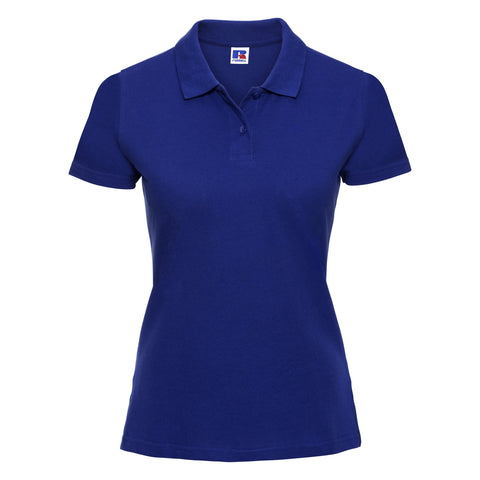 Russell Women's classic cotton polo